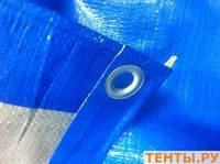 "Тент ""Тарпаулин"", 30х50, 180 г/м2, с люверсами по периметру с шагом 0,5(м)."