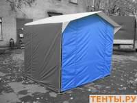 Передняя стенка для палатки 2х2, синяя