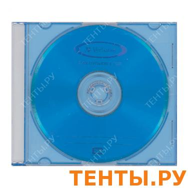 Диск DVD+RW(плюс) VERBATIM 4,7Gb 4x Color Slim Case 43297 (ш/к-2975)