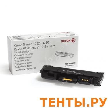 Тонер-картридж XEROX (106R02778) WC 3215/3225/Phaser 3052/3260, ориг., ресурс 3000 стр.