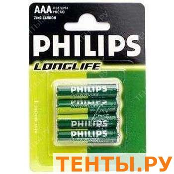 R03-4BL (48шт) Philips long life